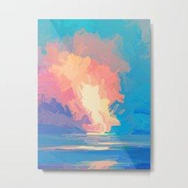 Vibrant Clouds 95 Metal Print