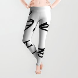 Killing Eve - Sorry Baby -quote-Villanelle Leggings