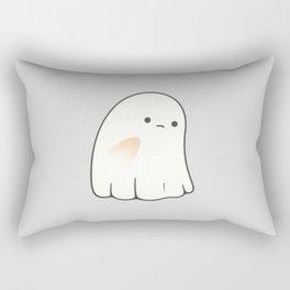 Poor ghost Rectangular Pillow