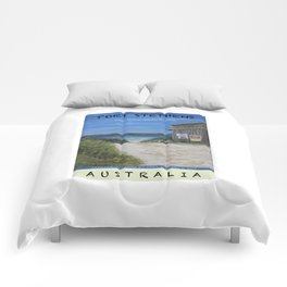 Travel Poster One Mile, NSW Comforters