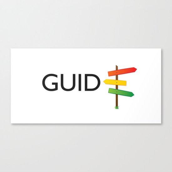 GUIDE Canvas Print
