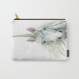Unicorn Watercolor Carry-All Pouch