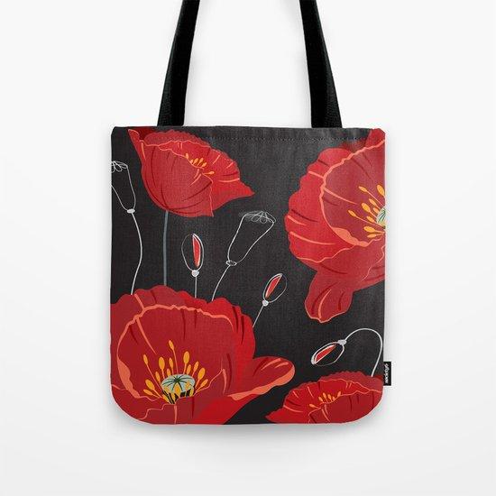 Poppy variation 8 Tote Bag