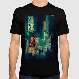 Tokyo Nights / Memories of Green / Blade Runner Vibes / Cyberpunk / Liam Wong T-shirt