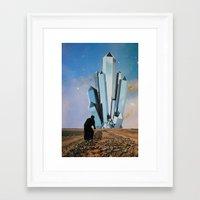 crystal Framed Art Prints featuring Crystal by John Turck