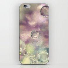 Ice Crystals iPhone & iPod Skin
