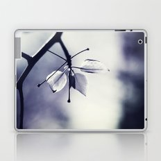 Spring Leaves in Black and White  Laptop & iPad Skin