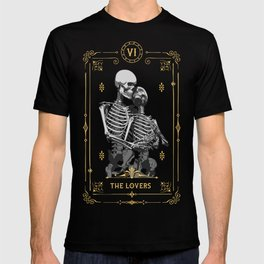The Lovers VI Tarot Card T-shirt