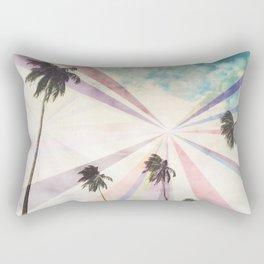 Palm Spectrum Rectangular Pillow