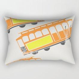 San Francisco Streetcars Rectangular Pillow