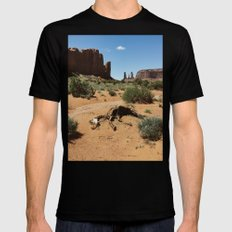 Monument Valley Horse Carcass Black MEDIUM Mens Fitted Tee