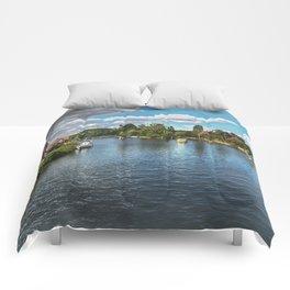 From Windsor Town Bridge Comforters