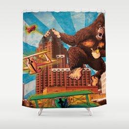 Milwaukee vs. the Super Ape Shower Curtain
