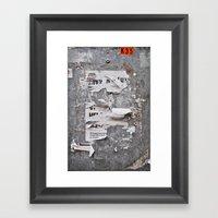 Urban Archaeology - Copenhagen Framed Art Print