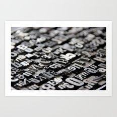 Type II. Art Print