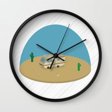 Breaking Bad RV | isometric Wall Clock