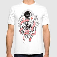 The Blood offering LARGE Mens Fitted Tee White