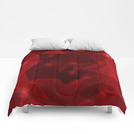 Triangle background Comforters