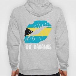 BHS  Bahamas Kiss Lips Tee Shirt Hoody