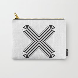 Letter X Carry-All Pouch