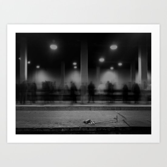 the uncounted procession Art Print