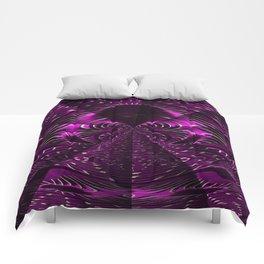 Purple Eliquence Comforters