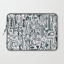 Medical Condition FADED DENIM / Vintage medical instruments, take two of these and call me in the mo Laptop Sleeve
