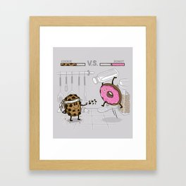 Duelicious Framed Art Print