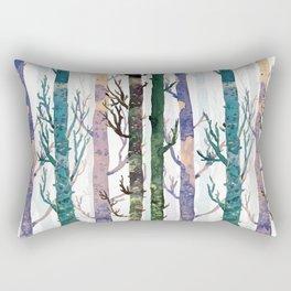 Color Forest Rectangular Pillow