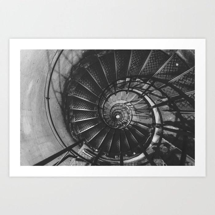 Infinite Spiral Art Print