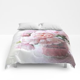 Impressionistic Dreamy Peony Peonies Wall Art Home Decor Comforters