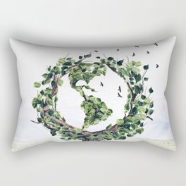 Save the Planet Rectangular Pillow