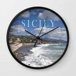 STONEBEACH  Sicily Wall Clock