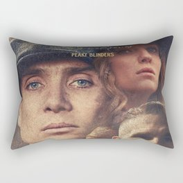 Peaky Blinders, Cillian Murphy, Thomas Shelby, BBC Tv series, Tom Hardy, Annabelle Wallis Rectangular Pillow