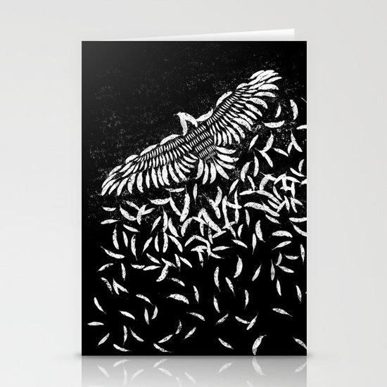 Of a feather Stationery Cards