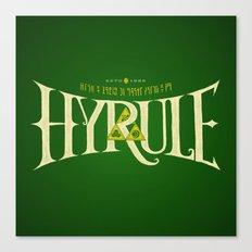 Hyrule Nation Canvas Print