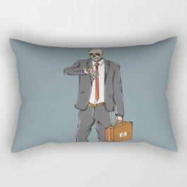 Business Skull Rectangular Pillow