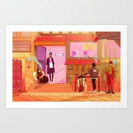 Krazam Art Print