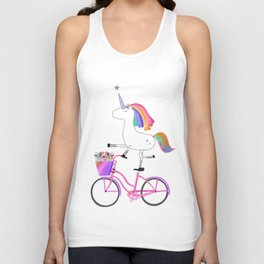 Bicycorn Unisex Tank Top
