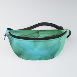The Blue Green Sea Fanny Pack