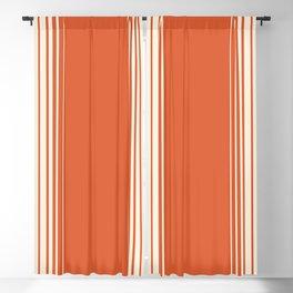 Marmalade & Crème Vertical Gradient Blackout Curtain