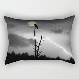 """POTUS Trump has something to crow about: """"There is no collusion"""". Rectangular Pillow"""