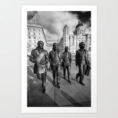 Fab Four Art Print