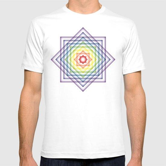 ROY G BIV Overlay T-shirt