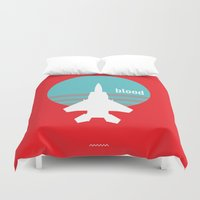 blood Duvet Covers featuring BLOOD by SIX PEAKS