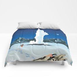 See the Ice Plumes of Enceladus Comforters