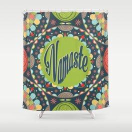 Mandala - Namaste Shower Curtain