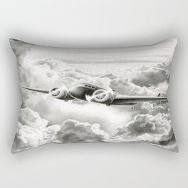 Ghost Flight- Amelia Earhart  Rectangular Pillow