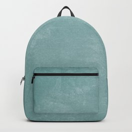 White and Green Old School Green Board Backpack