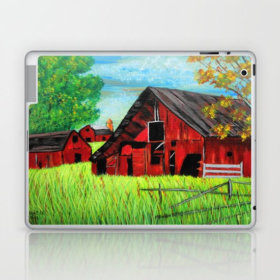 Old Farm 2 Laptop & iPad Skin